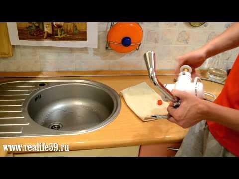 Кран водонагреватель АКВАТЕРМ. Лучший проточный электрический нагреватель воды.