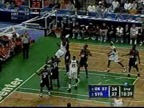 Jeremy McNeil Dunk vs. Oklahoma St. 2003 NCAA tournament