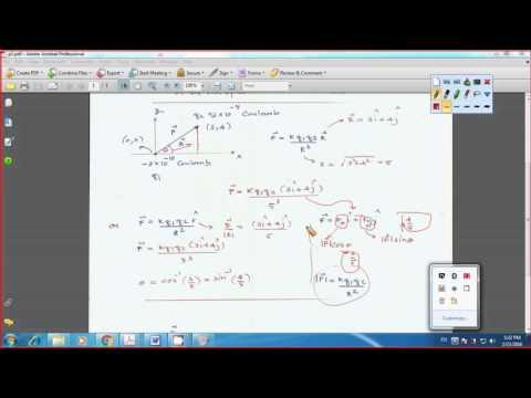 Physics:: Electric Fields(ไทย)