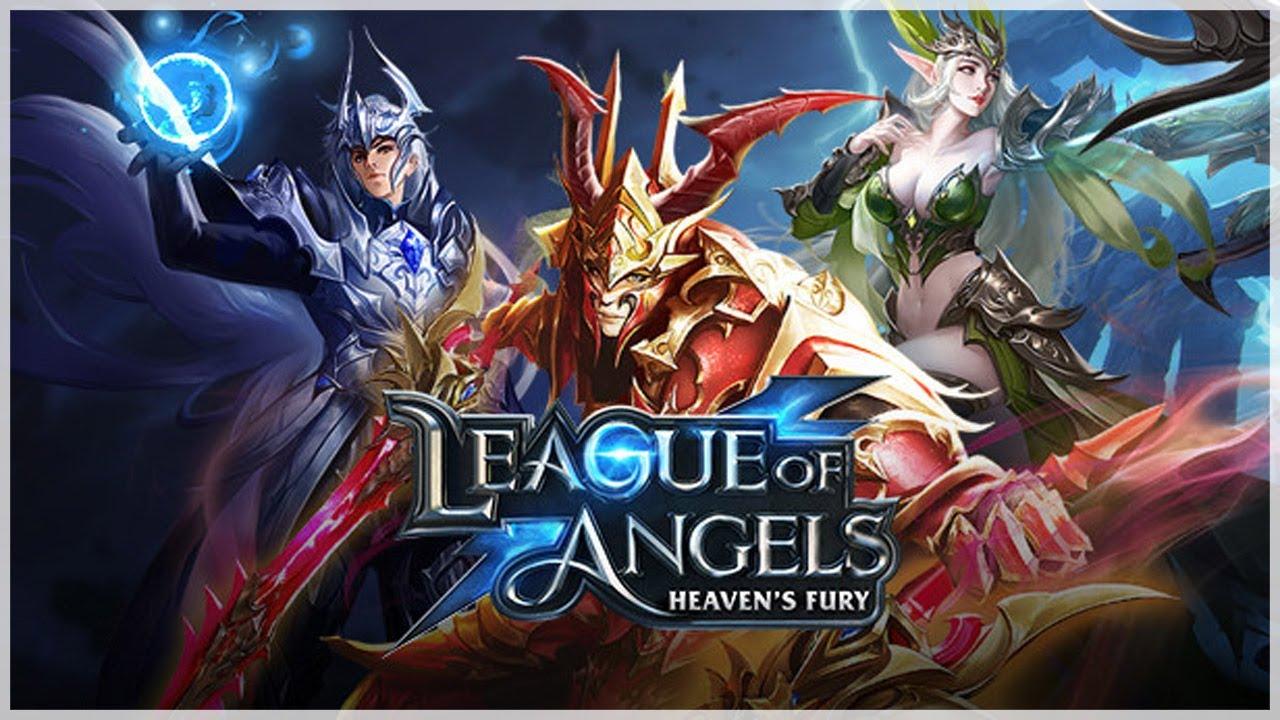 League of Angels Heavens Fury - игра в жанре фэнтези,Экшен,ММО,Ролевая игра
