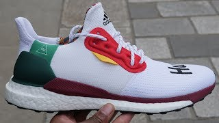 Worst Model? Pharrell Williams x Adidas Solar Hu Glide Quick Look & On Feet