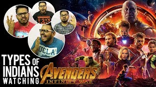 Types of Indians watching Avengers : Infinity War | Funny Video