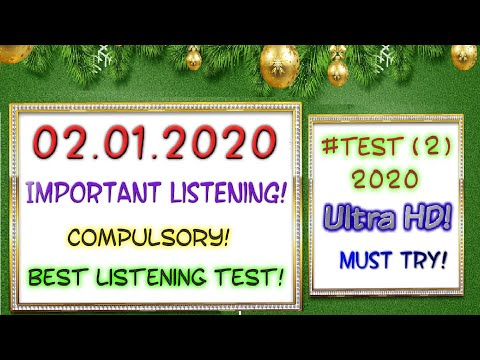 IELTS LISTENING PRACTICE TEST 2019 WITH ANSWERS | 02.01.2020