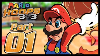 Mario Hoops 3-on-3 - Part 1 - Mushroom Tourney (Normal) – Aaronitmar
