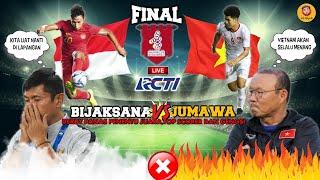LIVE RCTI INDONESIA U23 VS VIETNAM U23,PELATIH VIETNAM SESUMBAR INDRA SJAFRI KOMENTAR