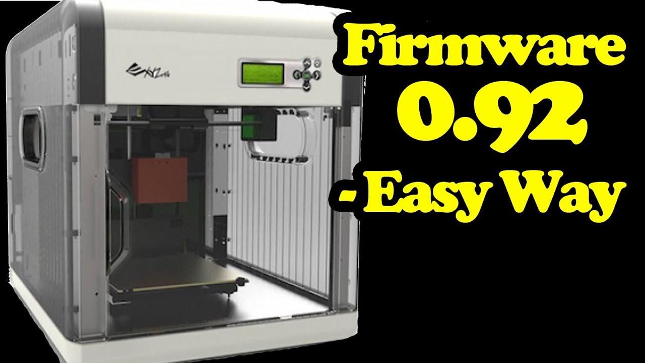 Flash Firmware Davinci 1 0 3D Printer - 0 92 Repetier by R3DLIN3S