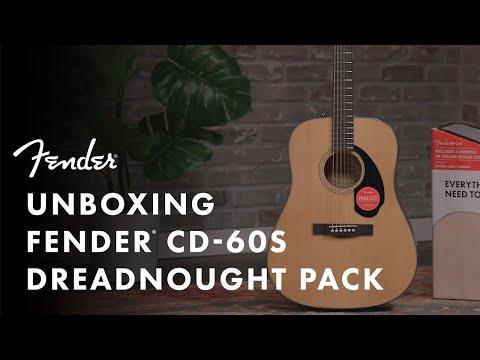 Unboxing The Fender Acoustic Guitar Starter Pack | Fender