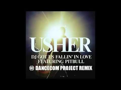 Usher Ft. Pitbull - Dj Got Us Falling In Love Again (Dancecom Project Remix).mp4