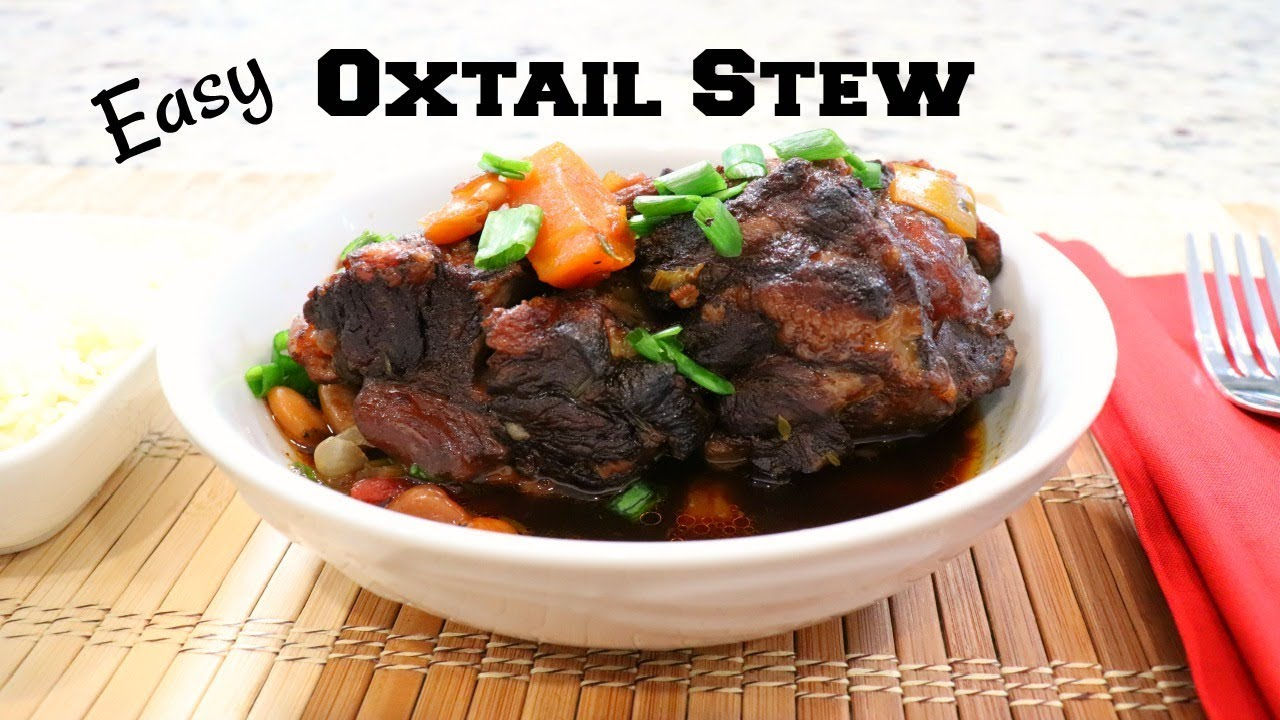 How to make oxtail in instant pot