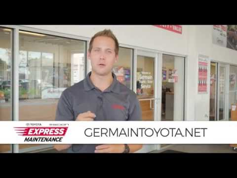 Express Maintenance at Germain Toyota of Columbus