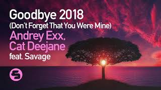 Andrey Exx & Cat Deejane feat. Savage - Goodbye 2018 (Don't Forget That You Were Mine)