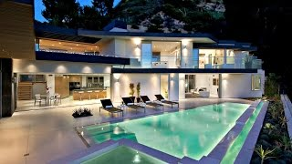 Sophisticated Contemporary Hollywood Hills Luxury Residence in Los Angeles, CA, USA