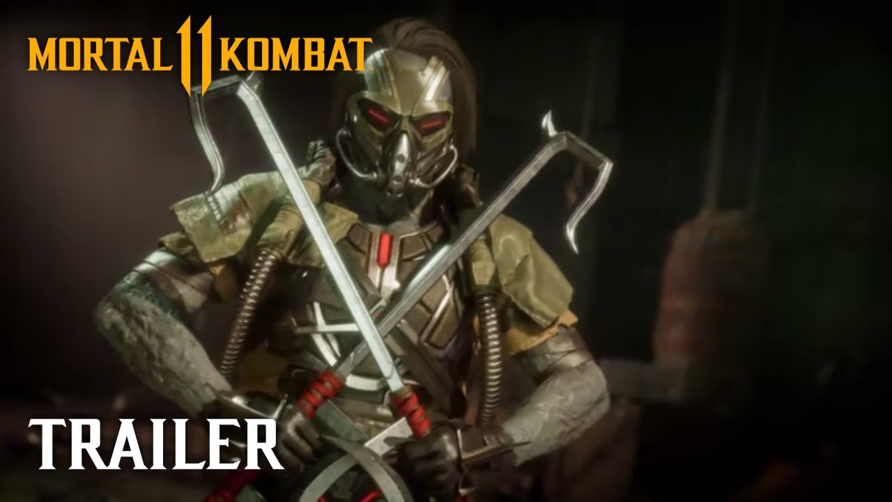 Mortal Kombat 11 – Official Kabal Reveal Trailer