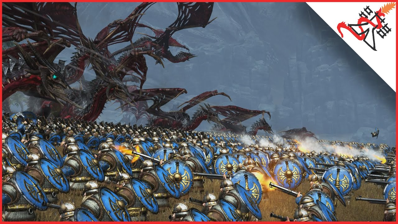 30 ZOMBIE DRAGONS (mod) vs 6240 THUNDERERS - Total War ...