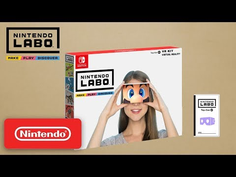 Nintendo Labo : VR Kit - First Look | Concept
