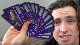 I Bought 100 Subway Scratchcards (for science)