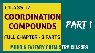 COORDINATION COMPOUNDS FULL CHAPTER - PART 1- MALAYALAM  EASY TRICKS  PLUS 2  NEET  JEE ADVANCED