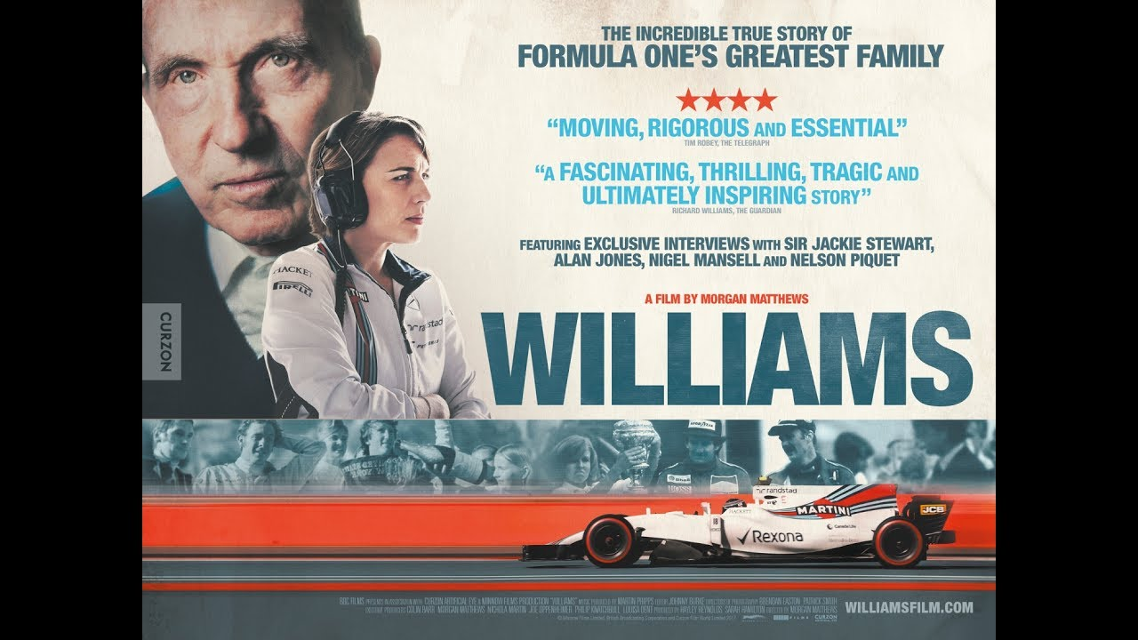 Williams Trailer 2017 Story Of Formula 1