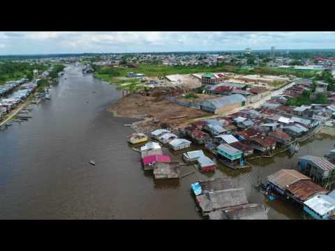 Belen floating houses - Iquitos - Peru