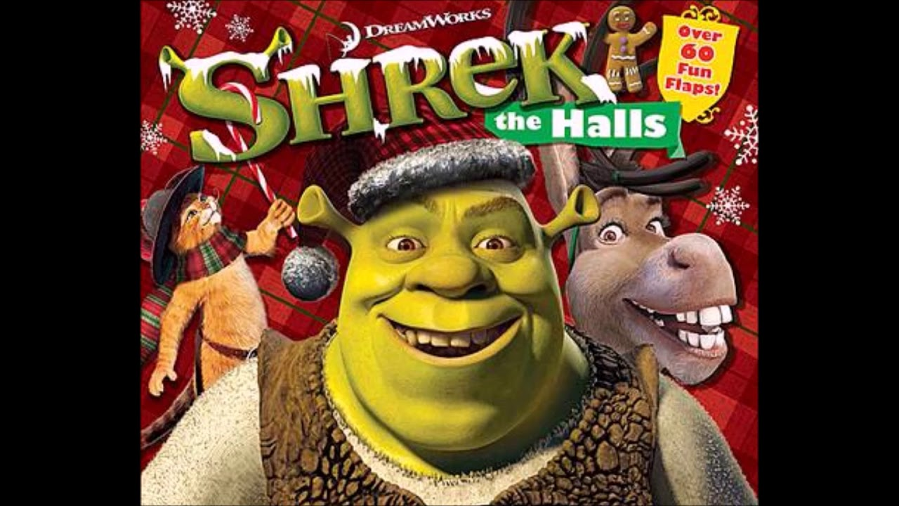 Shrek Christmas.Shrek The Halls Sountrack 3 Christmas Wrapping The Waitresses