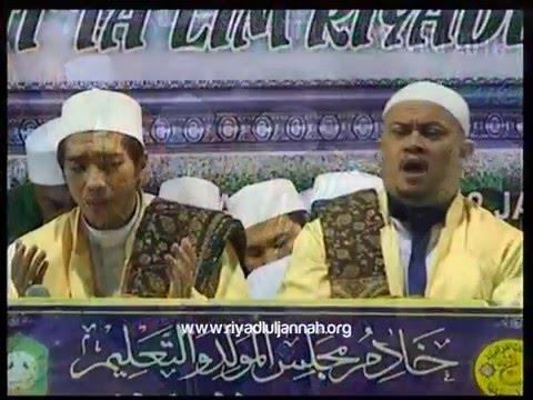 Allah - Allahu ~ Sholatun ~ Syi'ir Kereto Jowo ~ Subhanallah @ Gedangan  (2 Januari 2016)