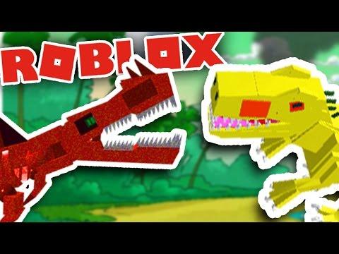 BECOMING DINOSAURS IN ROBLOX! + DINOSAUR BATTLES! | Let's Play Roblox Dinosaur Simulator Gameplay