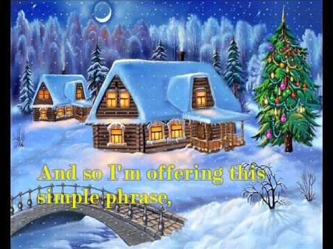 The Christmas Song by Michael Buble with lyrics