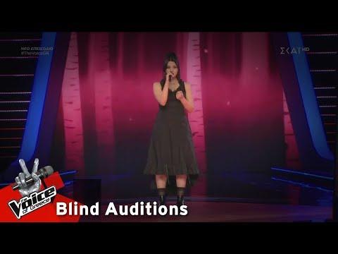 Τζοάννα Καραόγλου – Creep | 4o Blind Audition | The Voice of Greece