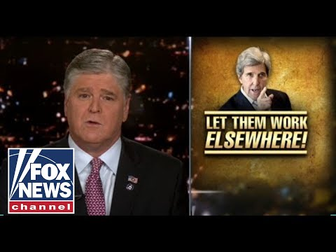 Kerry flies on private jet while implementing job killing climate polices: Hannity