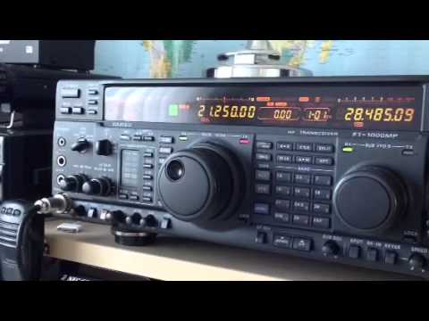 YB7GRN Indonesia Amateur Sumatra Yaesu FT-1000MP Amateur Radio