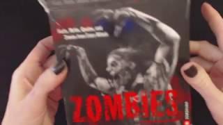 ASMR Whisper Reading ~ ZOMBIEZZZZzzzz!!! (Zombie Calendar Reading)
