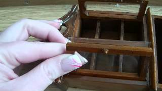 "How To Make And Replace Old Dollhouse ""glass"" Furniture Inserts"