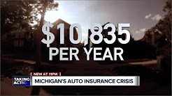 Bills in Lansing give hope to Detroiters paying highest auto insurance rates in US