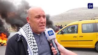 اصابات اثناء مواجهات بين الفلسطينيين وقوات الاحتلال - (29-12-2017)