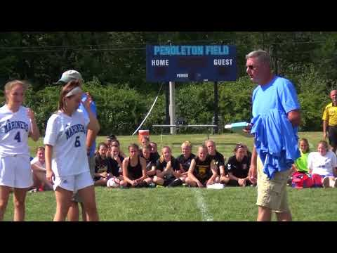 Announcing All Stars During Oceanside Lady Mariners Kick off Tourney 2017