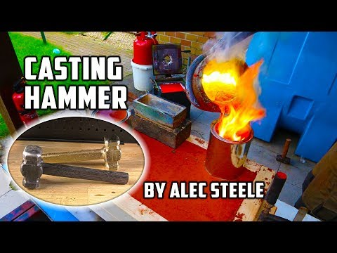 Casting Brass Hammer Forged By Alec Steele