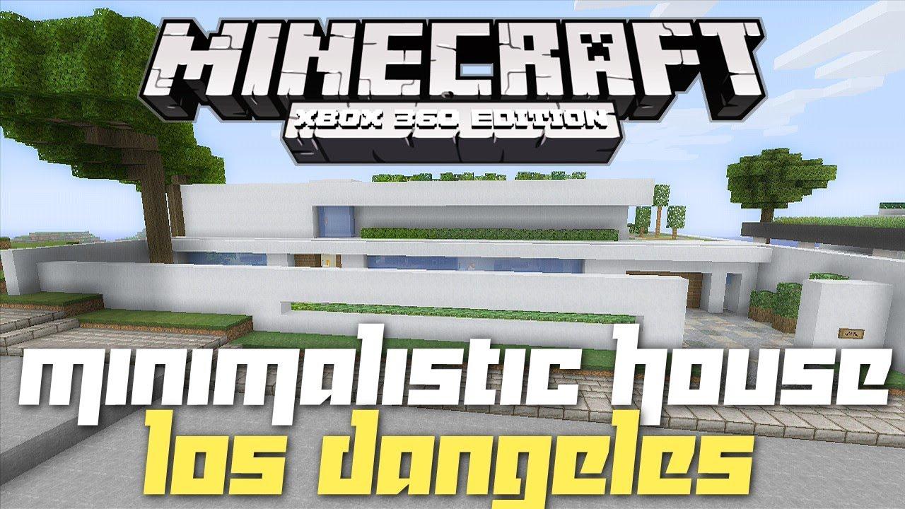 Minecraft xbox 360 modern minimalistic house house for Modern house ep 9