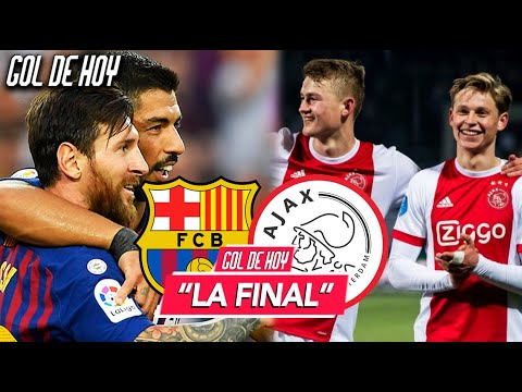 """AJAX vs BARCA: FINAL de la CHAMPIONS"" I Resumen Europa League I GOL DE HOY"