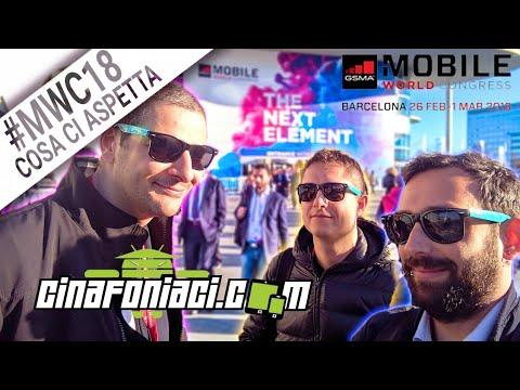 Cinafoniaci al Mobile World Congress 2018 | #CosaCiAspetta