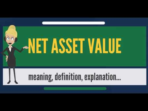 What is NET ASSET VALUE? What does NET ASSET VALUE mean? NET ASSET VALUE meaning & explanation