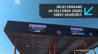 Videoteekond: Kuidas jõuda sõiduautoga laevale Tallinna Vanasadama D-terminali alal