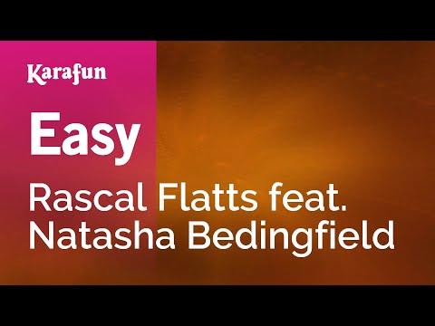 Karaoke Easy - Rascal Flatts *