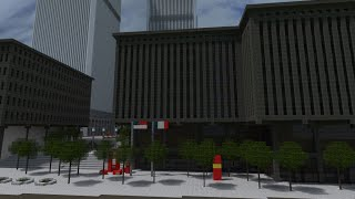 The Original World Trade Center - Minecraft