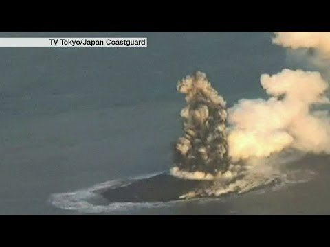 INCREDIBLE: A BIRTH OF AN ISLAND IN JAPAN - BBC NEWS