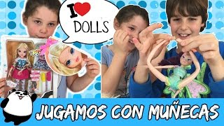JUGAMOS con MUÑECAS * Playing with DOLLS Moxie Girlz