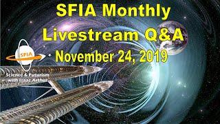 SFIA Monthly Livestream: November 24, 2019