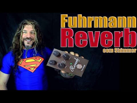Fuhrmann Reverb RV 1 - Shimmer - De Ros Demo