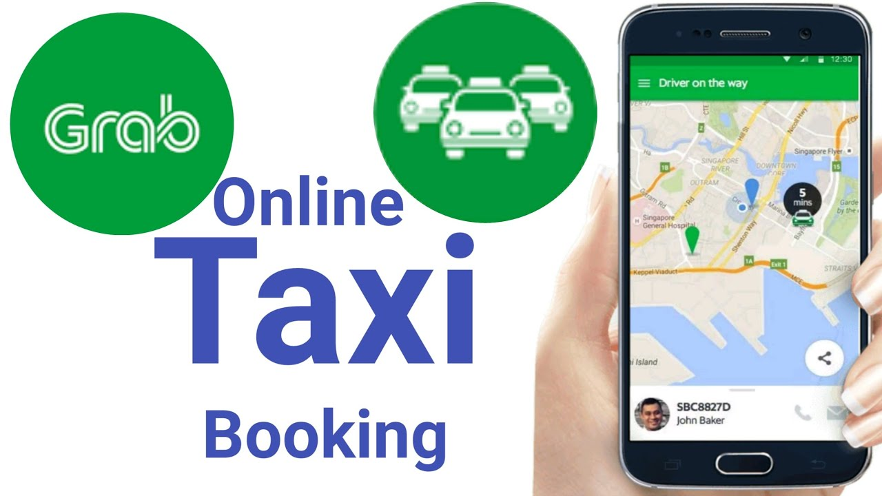 How to Book a Taxi with Grabtaxi App on iOS