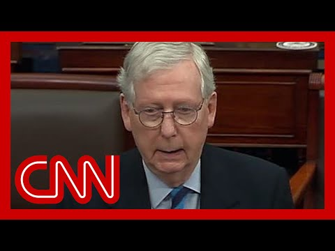 McConnell: Capitol Hill mob was 'provoked' by Trump