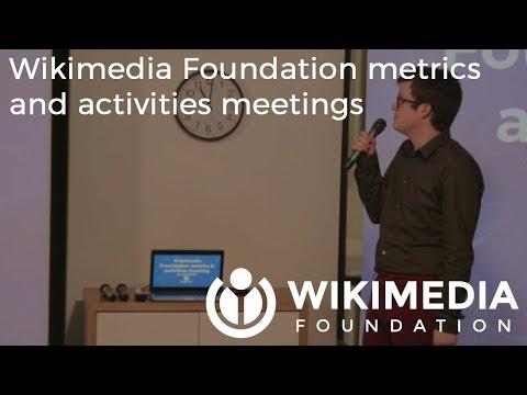Wikimedia Foundation metrics and activities meeting - April 2018